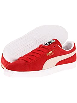 white and red pumas